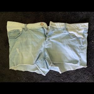 Mossimo Denim Shorts